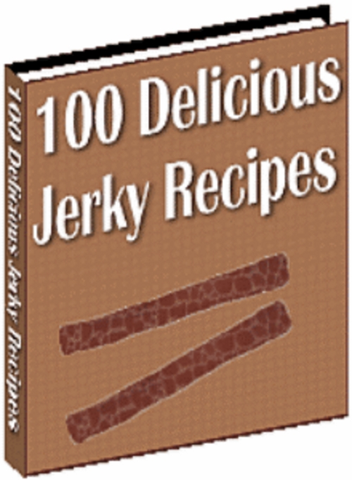 Product picture 100 Delicious Jerky Recipes