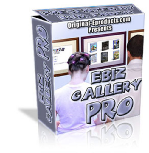Product picture Ebiz Gallery Pro with Master Resell Rights