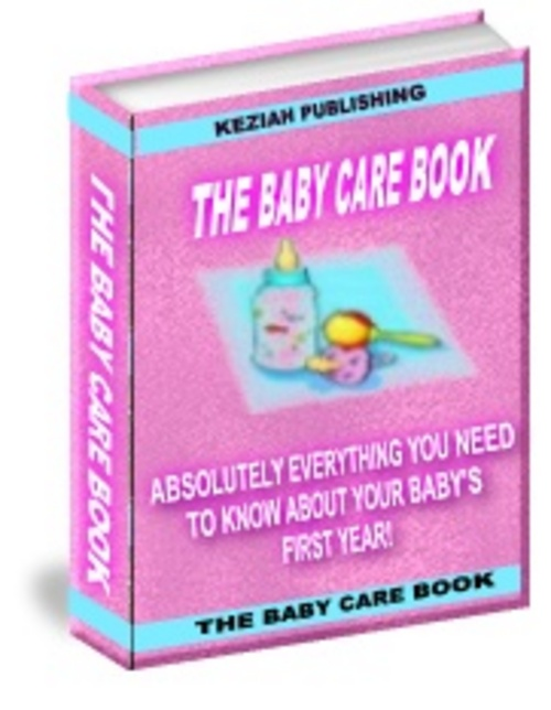 Product picture The Baby Care Book With Full Resell Rights
