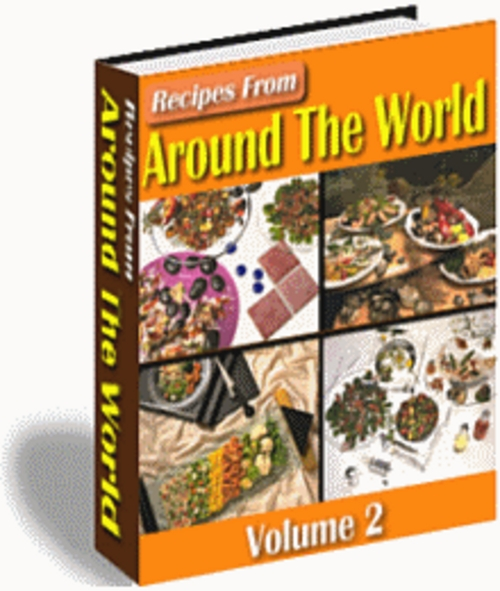 Product picture Recipes From Around The World Vol I and Vol II
